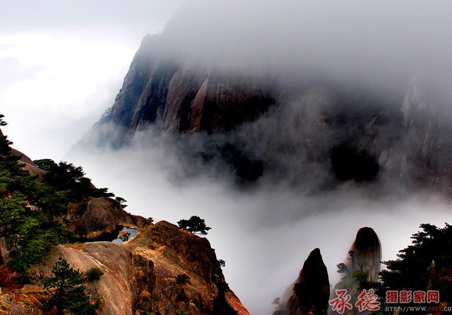 黄山新雨后