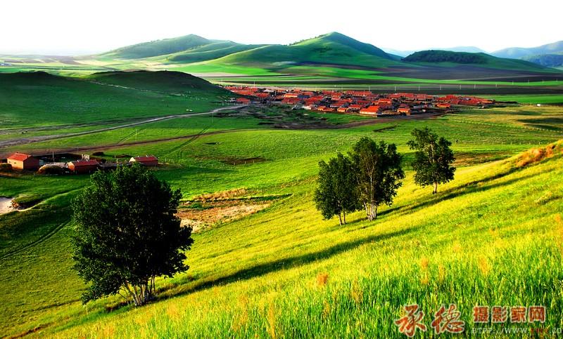 静谧的村庄