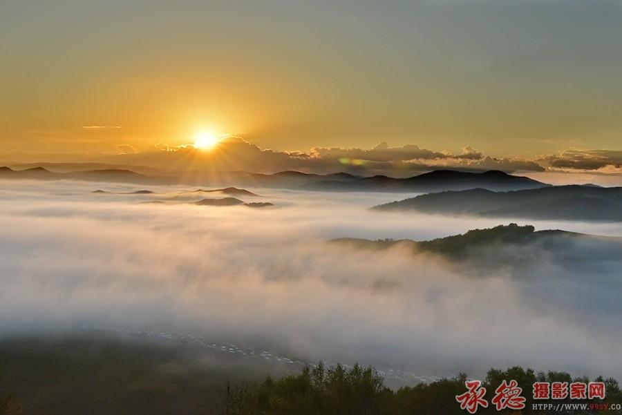(1)雾海日出