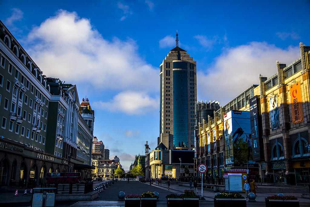 E各地风光-7哈尔滨中央大街