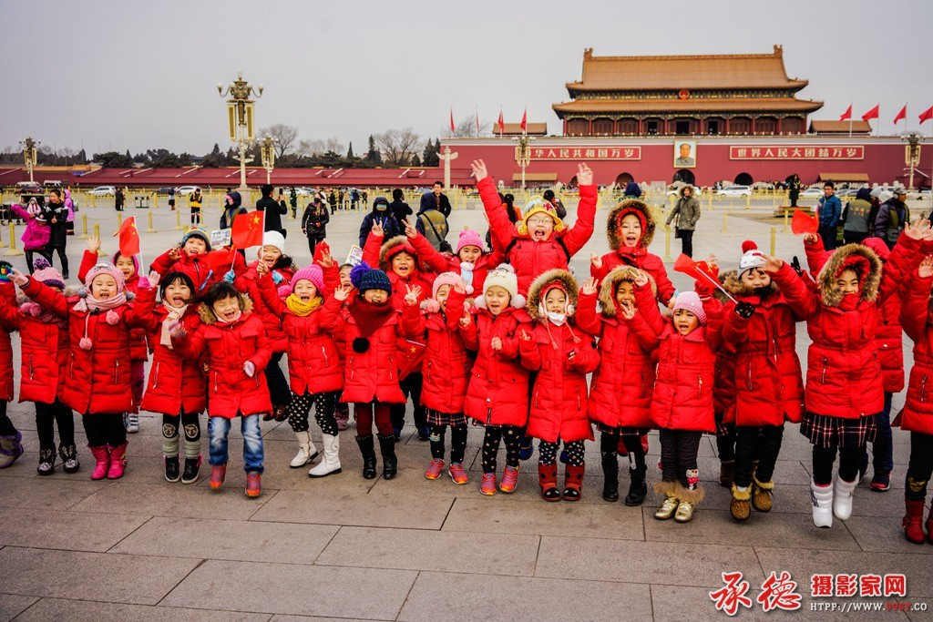 优秀奖:我爱北京天安门 日月星辰
