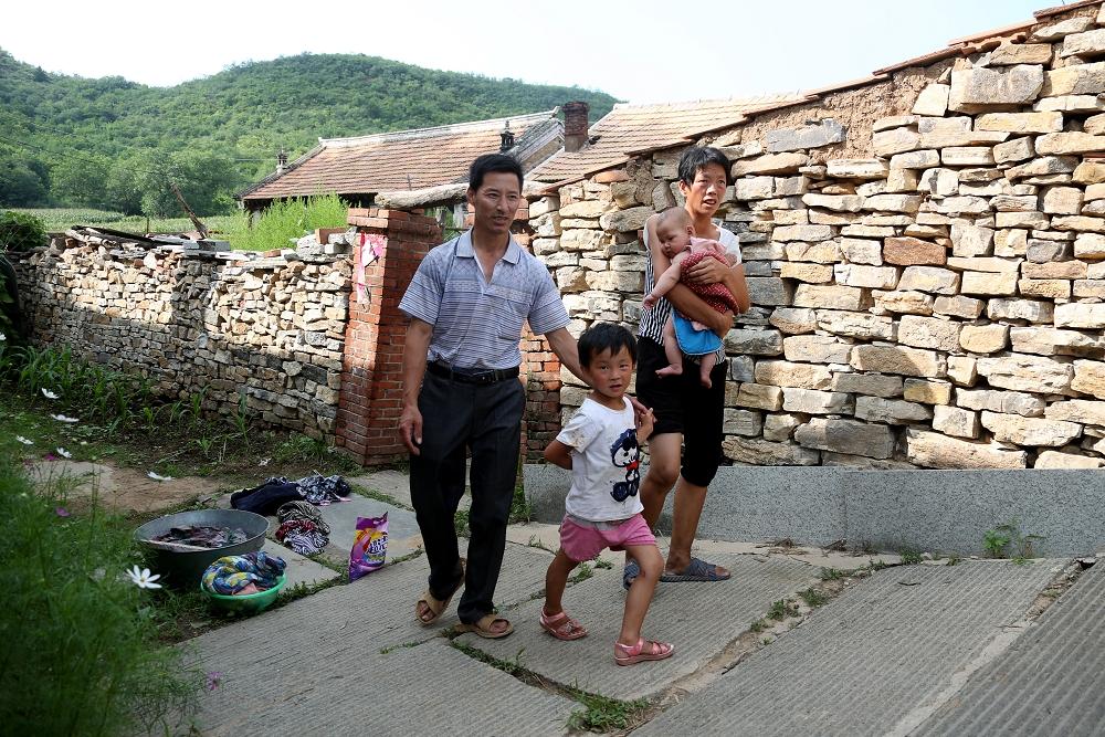 A7刘存儒和家人