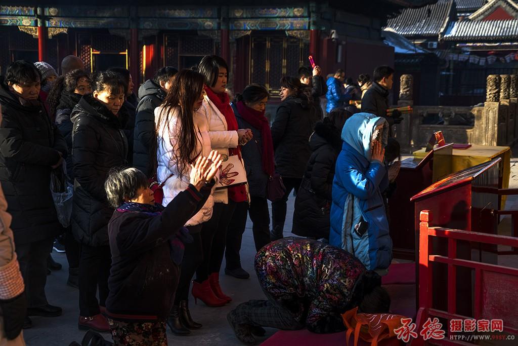 21、腊月初一上香人--普宁寺-燕山人