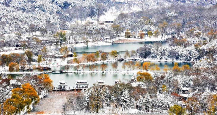 27-避暑山庄瑞雪