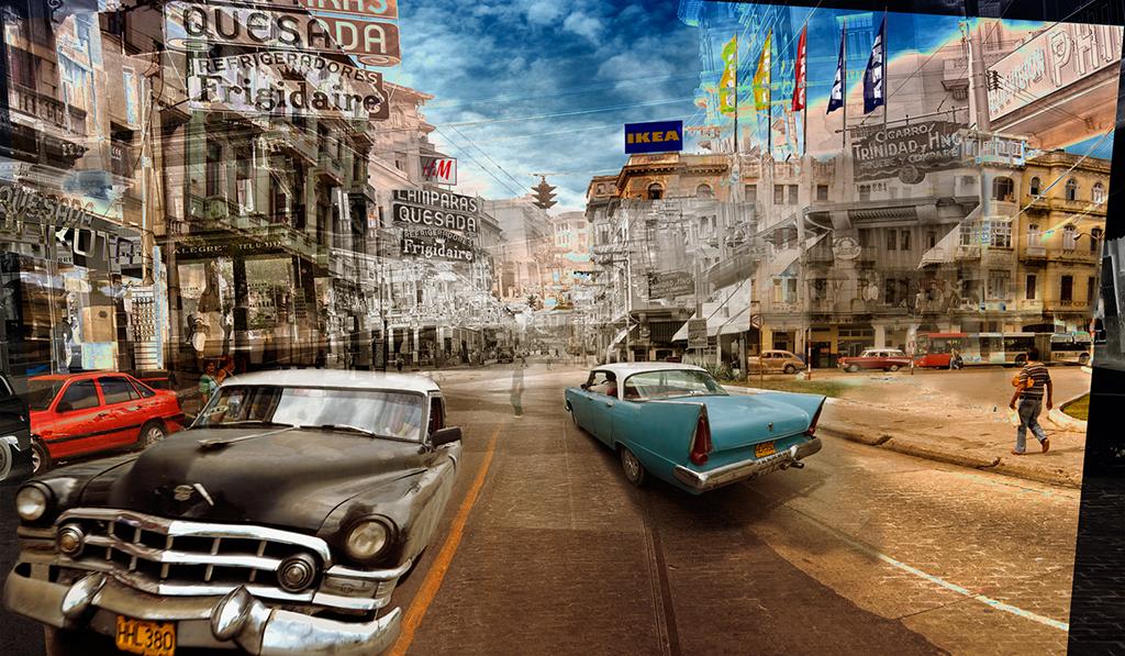 """中国第17届国际摄影艺术展览拟入展作品公示之主题类(组)Nelson Ramirez """"Hotel Habana""""Cuba"""